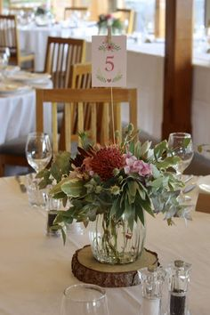 Swallows Nest Farm Pretty Pink January Wedding At S Bay Lodge Centrepieces