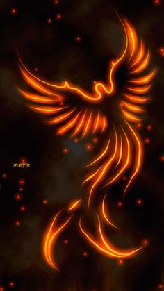I love this one, the Phoenix Rising!
