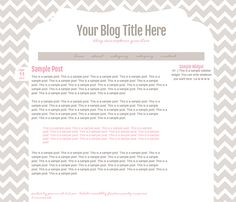 New free Blogger template! Pink & Brown