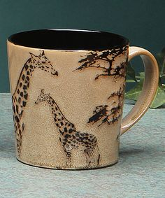 Another great find on #zulily! Giraffes Mug by Unison Gifts #zulilyfinds