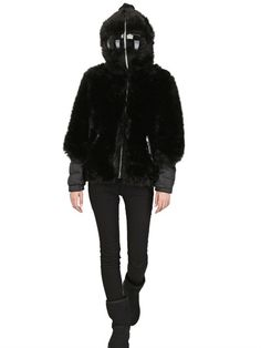 AI RIDERS ON THE STORM for @LUISAVIAROMA.COM  LIMITED EDITION ECO FUR DOWN JACKET