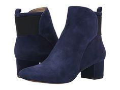 Nine West - Faceit (Navy/Black Suede) Women's Boots