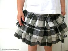 Cute ruffly skirt how-to