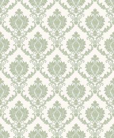 Tapeta CRISTIANA MASI I DAMASCHI 23645, w kolorach zieleni Industrial Design Company, Classic Home Decor, Modern Classic, Oriental, Ornament, Quilts, Rugs, Sketch, Italy