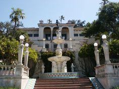 Hurst Castle, San Simeon, California Outdoor Swimming Pool, Swimming Pools, Hurst Castle, Places Ive Been, Places To Go, Castles To Visit, San Simeon, San Luis Obispo County, Highway 1