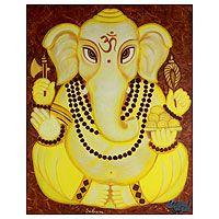 Meditative Ganesha II from @NOVICA, They help #artisans succeed worldwide.