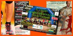 Añadidas nuevas carreras populares en el calendario de abril de 2016.  #carreraspopulares #correr #atletismo #deporteenAndalucia #voyacorrer