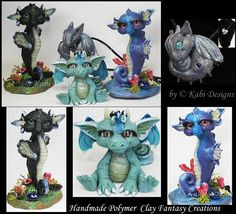 Fantasy Littles Creatures Handmade with Polymer Clay FaceBook Fans Page www.facebook.com/pages/Kabi-De… Available in My Ebay Auctions search.ebay.com/_W0QQfsooZ2QQf… Etsy Shop www.kab...