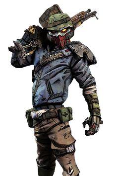 Borderlands 2 Elite bandit
