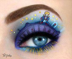 Arte en ojos