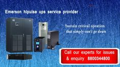 Uninterruptiable emerson UPS power supply with the reliability features & sustain critical operation.