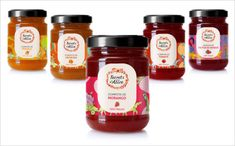 secrets of alice jam label designs 25 Sweet Jam Jar Labels & Packaging Design Ideas