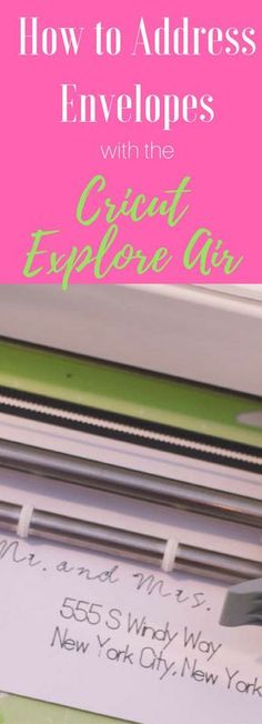 Cricut / Cricut Explore Air / Write with Cricut / Address Envelope with Cricut Explore / Wedding Announcements / Cricut Projects / Cricut Tutorials / Graduation Announcements