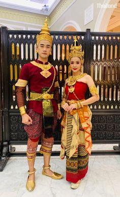 Character Inspiration, Character Design, Traditional Thai Clothing, Thai Fashion, Thai Dress, Thai Art, Laos, Asian, Culture