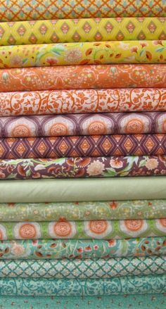 Birds and Berries by Moda - Fat Quarter Bundle. $39.95, via Etsy.
