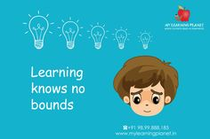 Learning knows no bounds.  The #special needs of a child should not hamper his #learning. Learning should never stop and it should permeate all the #boundaries.  Send your child for Special Education at My Learning Planet. Visit www.mylearningplanet.in or call 9899888185.