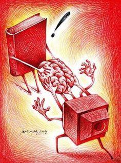 Book versus TV