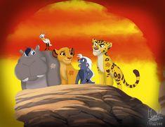 The Lion Guard Gender Bender by Lion King 1, Lion King Fan Art, Lion King Movie, Disney Lion King, Dragon Prince Season 3, Lion King Pictures, Panther Leopard, Bareback Riding, Disney Cats