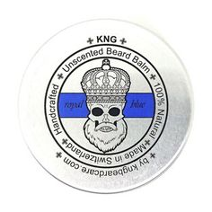 "KNG BeardCare Bartbalm ""royal blue"" 60g Beard Balm, The Balm, Royal Blue, Instagram Posts, Organic, Top, Designer Stubble, Face Hair, Beauty Products"