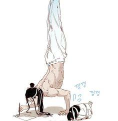 Manga Anime, Anime Art, I Love Anime, Me Me Me Anime, Chinese Cartoon, Familia Anime, Fanart, The Grandmaster, Cute Chibi