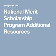 21 Best National Merit Scholarship Program images in 2019   National