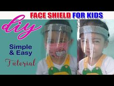 Face Shield for Kids | DIY | Protective Face Shield for children - YouTube