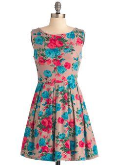 Bright Up the Room Dress | Mod Retro Vintage Dresses | ModCloth.com