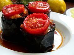 Постигая искусство кулинарии... : Куриный кебаб в баклажане (Tavuklu Saksı Kebabı)