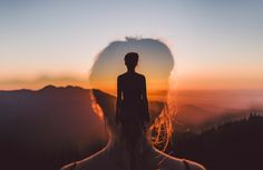 believe in yourself double exposure girl sunset silhouette isaac gautschi HD wallpaper Double Exposition, Exposition Multiple, Exposition Photo, Creative Photography, Photography Tips, Portrait Photography, Umbrella Photography, Photography Outfits, Urban Photography