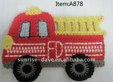 Fire Truck Applique | crochet_fire_truck_applique.jpg