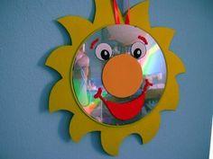 CD como decoración infantil 1