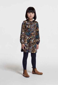 Kenzo Kids fall 2014 – Modern Oriental inspired kidswear
