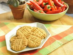 Crunchy Peanut Pepper Cookies recipe from The Kitchen via Food Network