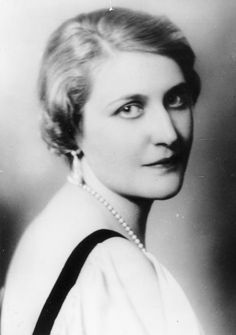 Magda wife of Josef Goebbels. Fanatic Nazi she poisoned her six children before she and her husband committed suicide in Hitler's bunker, April 30, 1945.