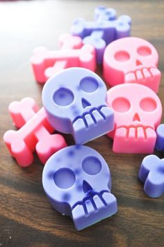 Girlie Skull Soaps $4.00 @SoapHouseWife