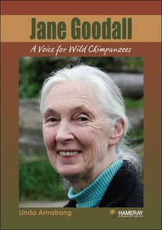 $8.95 Jane Goodall: Dr. Jane Goodall is one of the world's most famous scientists, having studied chimpanzees in Africa for over 50 years.  Her discoveries have transformed the way we think about these fascinating creatures. Throughout the course of her life, she has tirelessly worked to raise awareness about wild animals in Africa, and the people who are trying to save them. Read about her heartwarming work, and how she has become a hero to millions of animal-lovers around the world.
