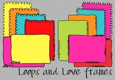 Loops and Love Doodle Frames