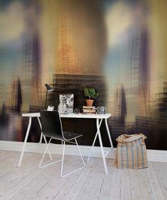 Wall mural R51006 Shaken City