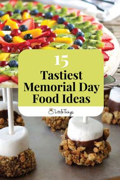15 Tastiest Memorial Day Food Ideas: Taco empanadas and chili lime shrimp skewers are just a few of the delicious recipes you'll find on this list of tasty Memorial Day food ideas.