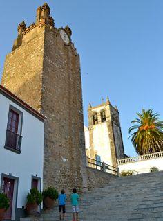 Serpa - the walls and the tower of the old castle, Alentejo, Portugal. (Photo: Bruno Gracio)  #PORTUGALmilenar #visitportugal