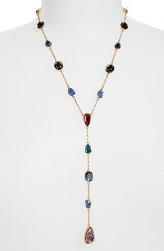 Lauren Ralph Lauren Stone Y-Necklace available at #Nordstrom