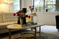 West Elm coffee table review, #livingroom, home decor, decor idea