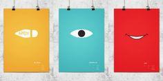 Lee Wonchan | Minimal poster Pixart