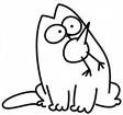 Simon's cat.
