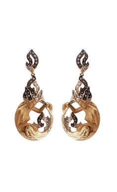 Magerit - New Fire Collection: Earrings Diosa