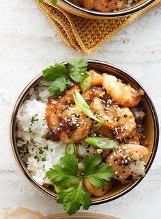 Hunaja-appelsiinikatkaravut | Kala | Soppa365 Hummus, Feta, Seafood, Curry, Ethnic Recipes, Curries, Sea Food