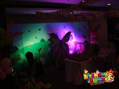 Backdrop with LED Lights