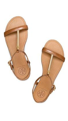 Getaway Essential: Strappy Sandals #toryburch