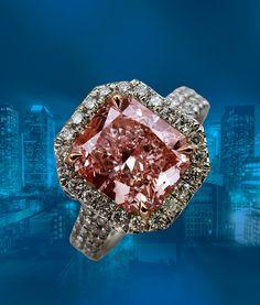 OSTASZ Pink Diamond Ring