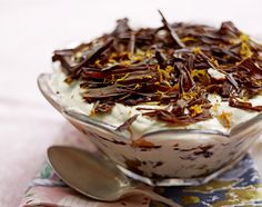 Christmas cake trifle by Jamie Oliver